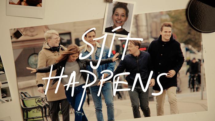 Sjit Happens gruppebillede